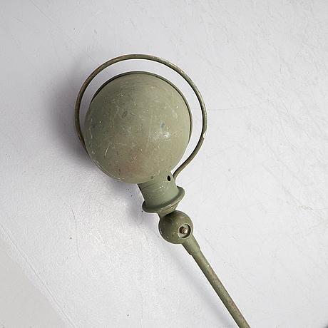 An industrial lamp from jielde, france.