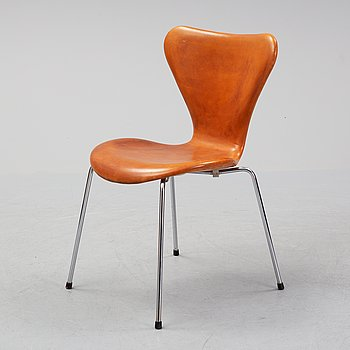 "Arne Jacobsen, stol, ""Sjuan"", Fritz Hansen, Danmark."