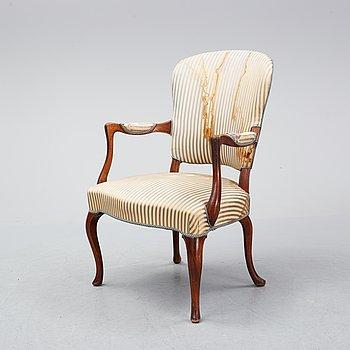 Frits Henningsen, a mahogany armchair, Denmark.