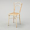 Thonet, a bent wood chair, vienna, austria, early 20th century.