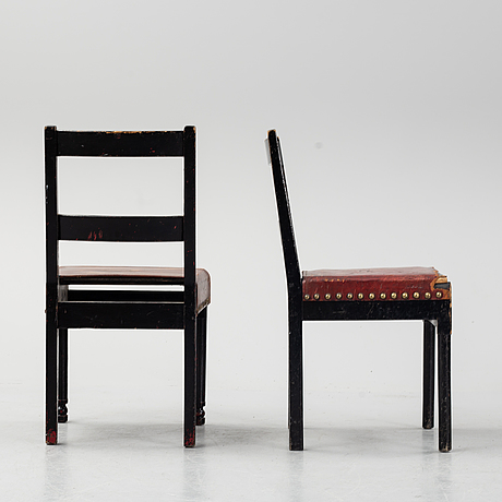 Torbjörn groot, two chairs.
