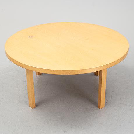 Alvar aalto, a birch coffee table, artek.