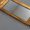 Speglar, två stycken, rokokostil, 1900-tal.