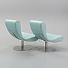 Geir sætveit, a pair of 'skybar' chairs from martela, finland.