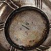 A swedish parcel-gilt silver beaker, mark of stephan westerstråhle, stockholm (1789-1812).
