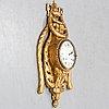 An 18th century louis xv wall clock jean-petit l´aine, amsterdam.