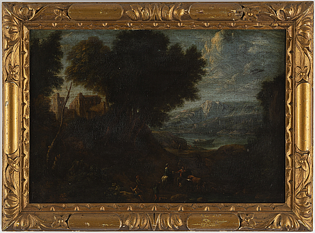 Unknown artist, italy, 18th century, oil on canvas.