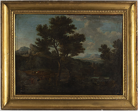 French school, 18th century, oil on canvas.