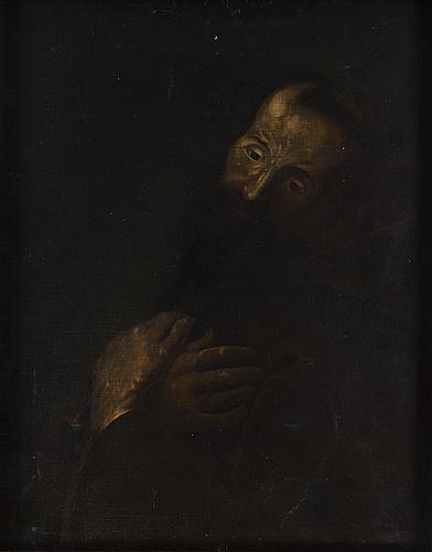 Okänd konstnär, möjligen spanien 1700-tal, olja på duk.