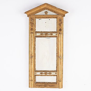 A Swedish mid 19th century mirror.