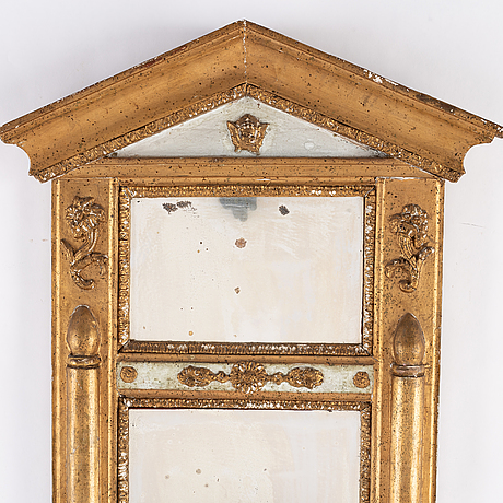 A swedish mid 19th century mirror.