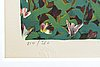 Lennart jirlow, lithograph in colours signed and numbered 214/380.