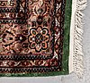 A carpet, an old pakistani, ca 276,5-279 x 191,5-196,5 cm (as well as 2-2,5 cm flat weave at the ends).