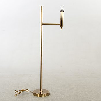 A brass standard light from Bergboms, second half of the 20th century.