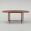 Josef frank, a model 1133 side table for svenskt tenn, sweden.
