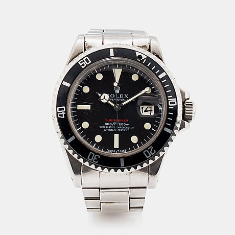 "Rolex, submariner, ""red mark iv""."