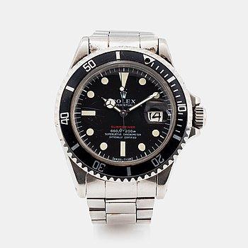 "64. Rolex, Submariner, ""Red Mark IV""."