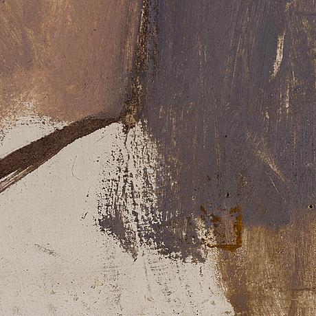 Ivan aguéli, oil on canvas.