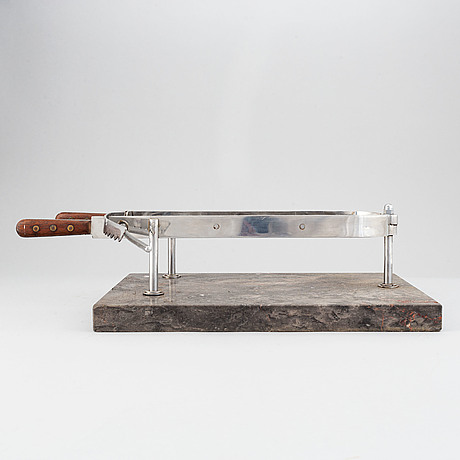 A steak holder, second half of the 20th-century.