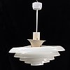 A fagerhults ceiling lamp from the second half of the 20th century.