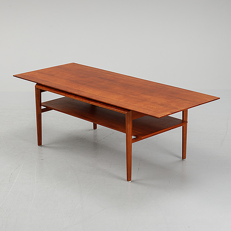A teak coffee table, seocnd half of the 20th century.