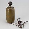 Carl-harry stålhane, bordslampa, rörstrand atélje, 1900-talets andra hälft.