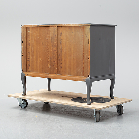 A chest of drawers from the mid 20th century.