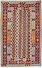 A rug, kilim, ca 244 x 157 cm.