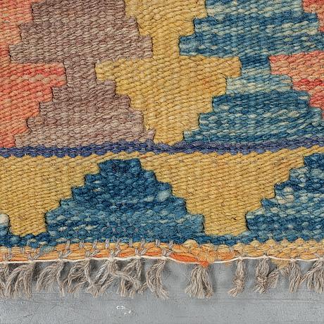 A rug, kilim, ca 247 x 171 cm.