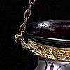Taklykta, glas, sent 1800-tal.