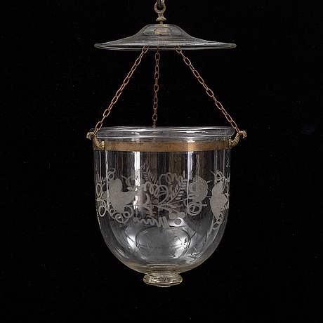 A late 19th century ceiling light.