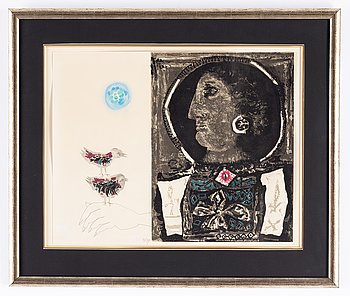 James Coignard, lithograph in coolours, signed 21730.