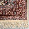 A carpet, oriental, ca 197 x 124 cm.