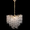 Toni zuccheri, a 21st century murano chandelier.