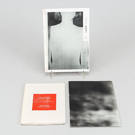 Daisuke yokota, 3 st fotoböcker limiterad upplaga.
