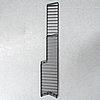 Nils strinning, a 'string' teak veneer book shelf system.