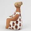 Lisa larson, 'charlotta' stoneware figurine, gustavsberg.