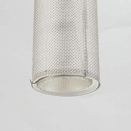 Ingo maurer a 'zettel'z a6' ceiling light, germany, 21st century.