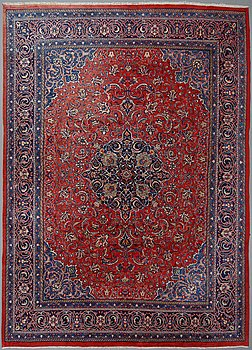 Matto, Sarouk/Mahal, ca 397 x 288 cm.
