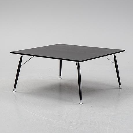 An oak coffee table from lammhults.