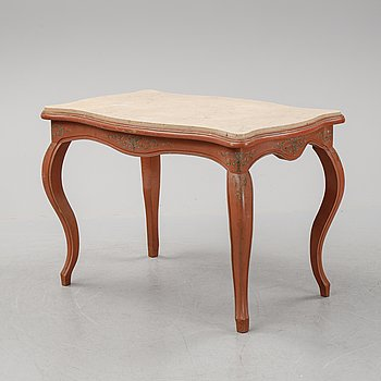 A rococo-style table, first half of the 20th century.