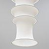 Bruno munari, a 'falkland' ceiling lamp, danese, milano, italy, designed in 1964.