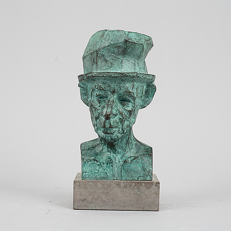 Vivianne geijer, sculpture, bronze, signed and dated -89, numbered 1-7.