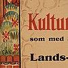 Gösta adrian-nilsson, poster for kulturhistoriska museet, 1929.