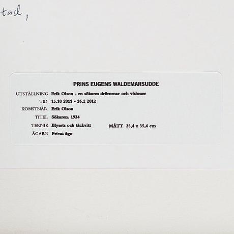 "Erik olson, ""sökaren"" (the seeker)."