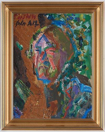 Alf lindberg, self portrait.