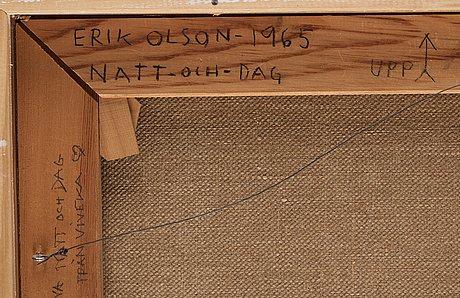 """Erik olson, """"natt - och - dag""""."""