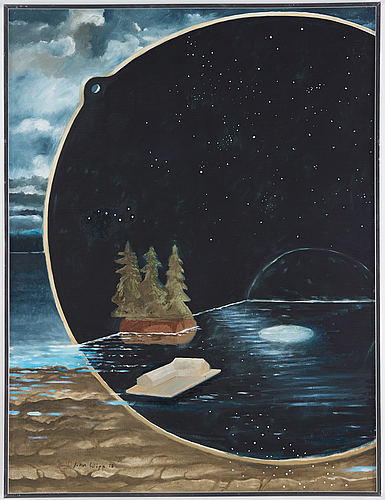 John wipp, oil on canvas, signed and dated -78.