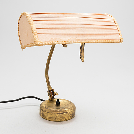 Mauri almari, a 1950's '61041' table lamp for idman.