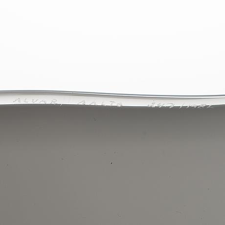 Alvar aalto, malja, malli 3900, erikoiserä artekille signeerattu alvar aalto 247/1986.